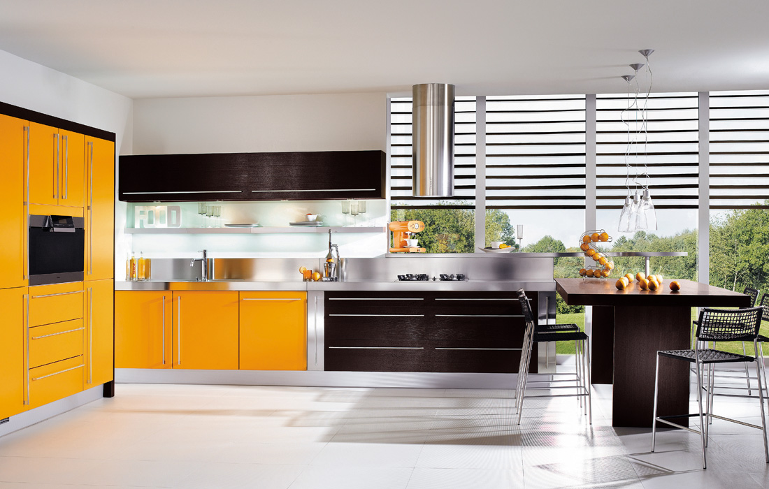 Katrin isabella valensiya black models picture for Puertas de cocina modernas
