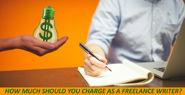 How much should a freelance content writer charge for the content or article?