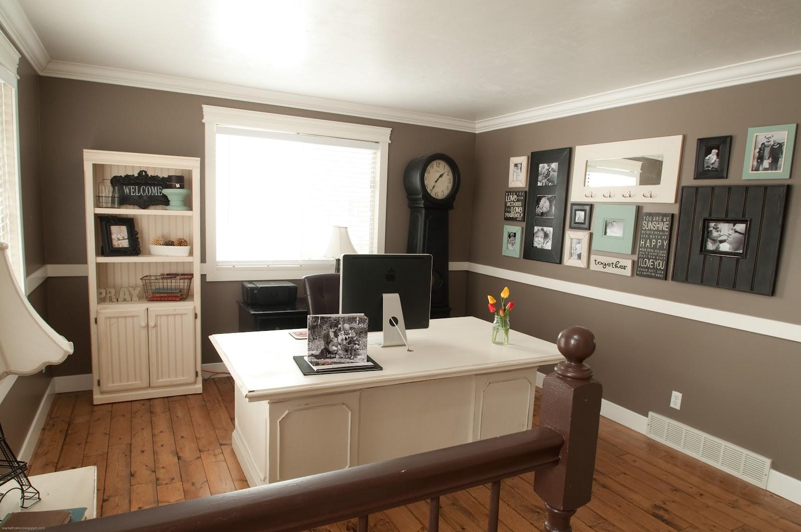 Start At Home Living Room Turned Office