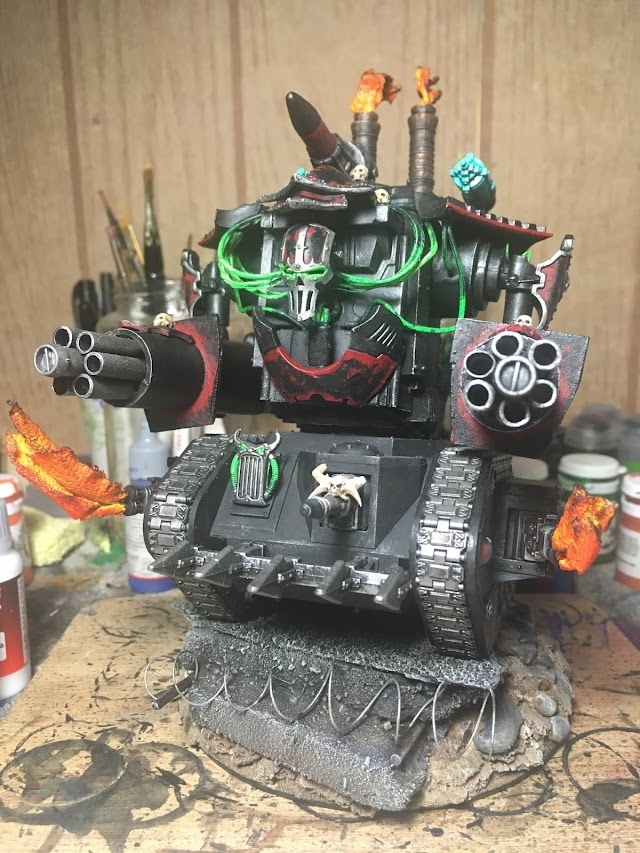 What's On Your Table: Chaos Knight Kitbash
