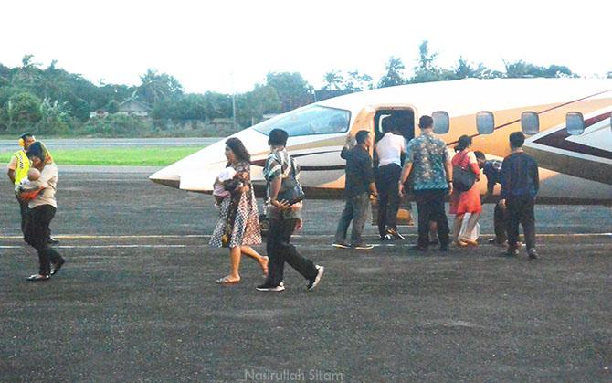 Menteri Kelautan dan Perikanan Susi Pudjiastuti berlibur di Jepara