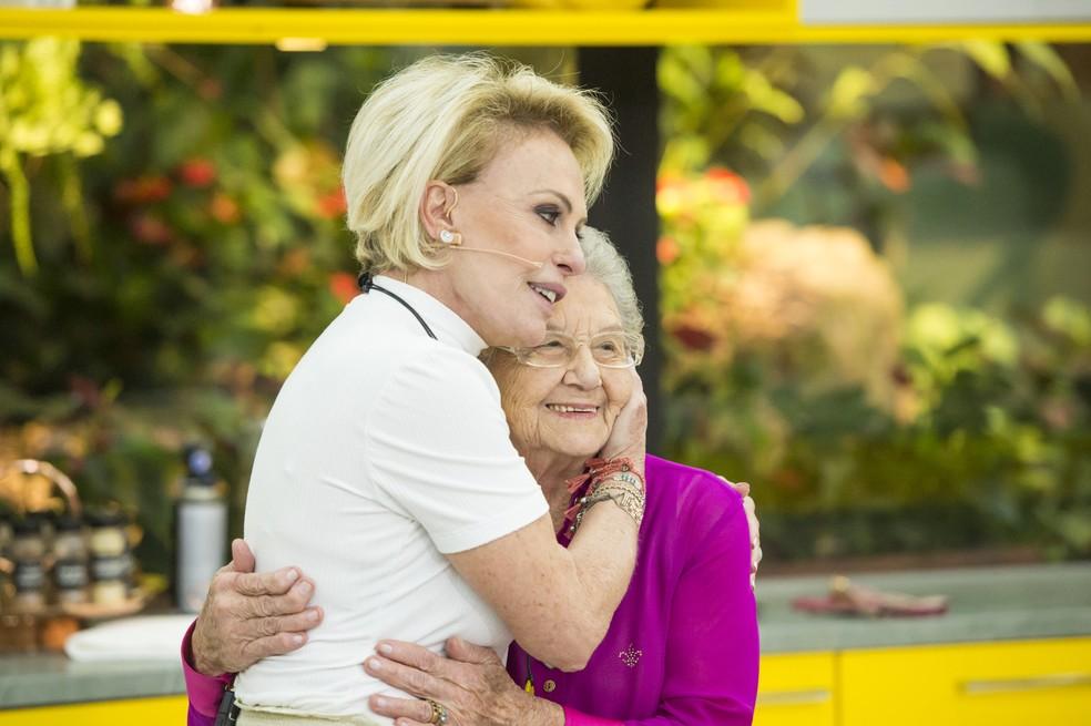 Ana Maria Braga e Palmirinha — (Foto: João Cotta/Globo).