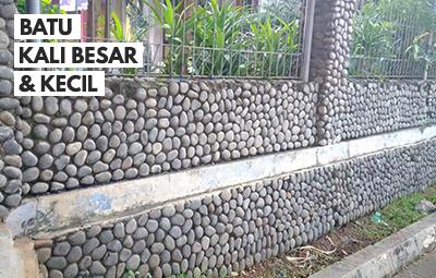 jual batu bulat untuk dinding