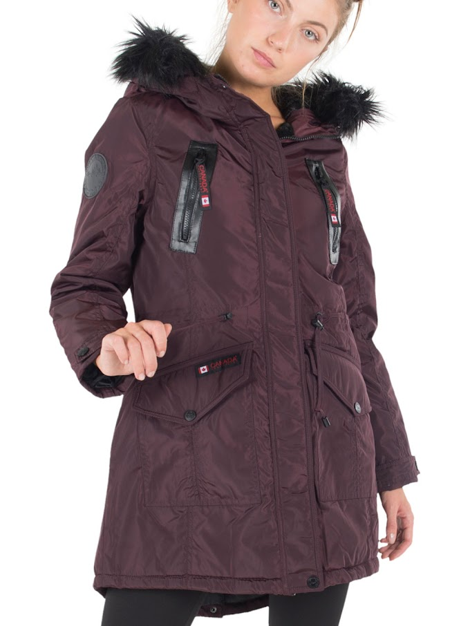 COOKIESKIDS - CANADA WEATHER GEAR WOMEN'S PLUS INSULATED PARKA $39.99