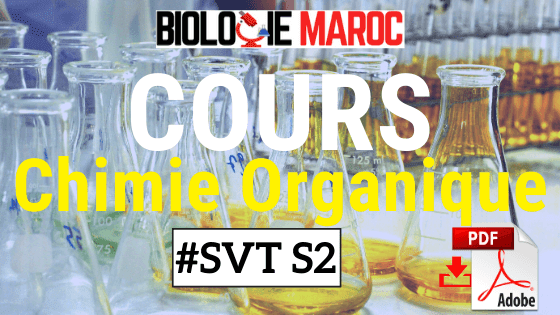 Cours de Chimie Organique SVT S2 PDF - Chimie II