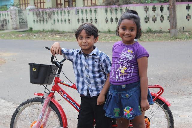 Sourajit Saha's Nephew Rick and Niece Bristi 1