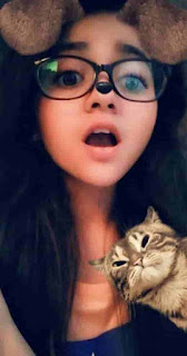 Nidhi Narwal With Cat