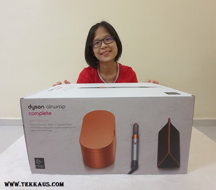 Dyson Airwrap Hair Styler Complete Edition Unboxing
