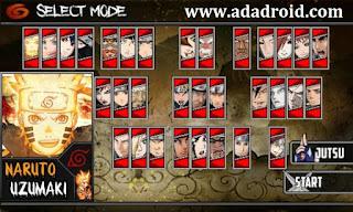 Naruto Senki Mod Shinobi Battle Rumble Apk
