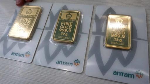 Harga Emas Antam Hari Ini Menguat Rp 3.000 Dibandingkan Semalam
