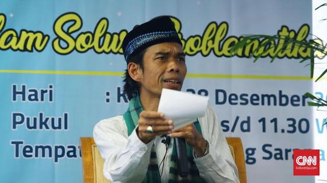Ustadz Somad Siap 'Indonesia Raya' jadi Syarat Sebelum Ceramah