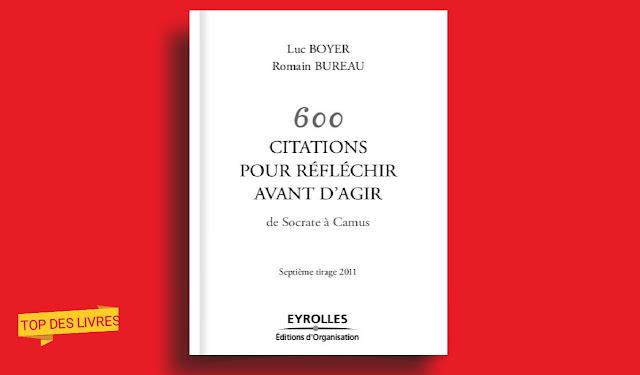 Télécharger : 600 Citations pour réfléchir avant d'agir en pdf