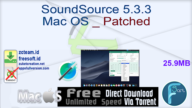SoundSource 5.3.3 Mac OS _ Patched_ ZcTeam.id