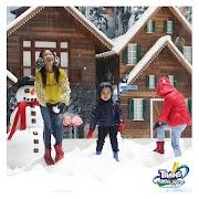Dinginnya Trans Snow World , Harga Tiket maus Trans Snow World Terbaru April 2019