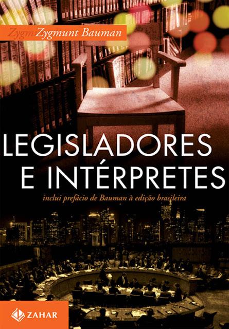 Legisladores e intérpretes Zygmunt Bauman