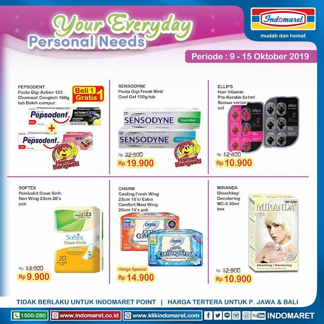 #Indomaret - #Katalog Promo Super Hemat Periode 09 - 15 Okt 2019