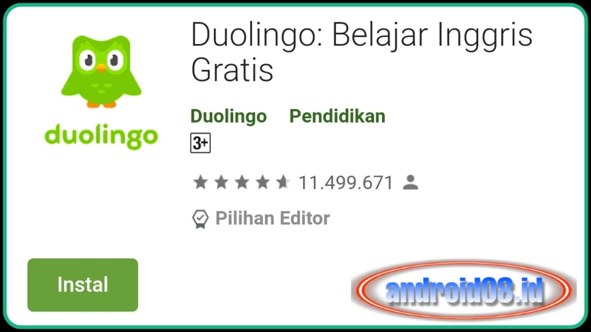duolingo playstore gratis