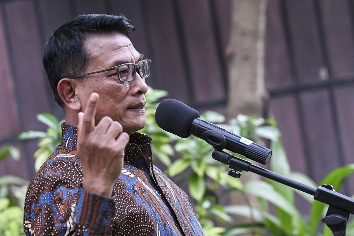 Demokrat ke Moeldoko: Jangan Bawa-bawa Nama Luhut!