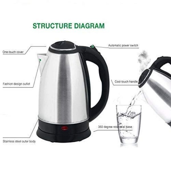 Just 4u electric water kettle