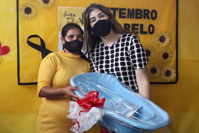 Prefeitura de Ribeirão realiza entrega de Kits de enxovais as gestantes do município