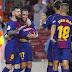 Barcelona venció al Sevilla en el partido 600 de Messi y sigue puntero