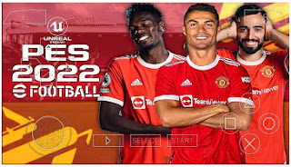 Download PES 2022 PPSSPP C19 New HD Graphics Faces And Hair & Full Transfer
