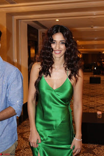Disha Patani in Beautiful Green Gown at her App Launch 030.JPG