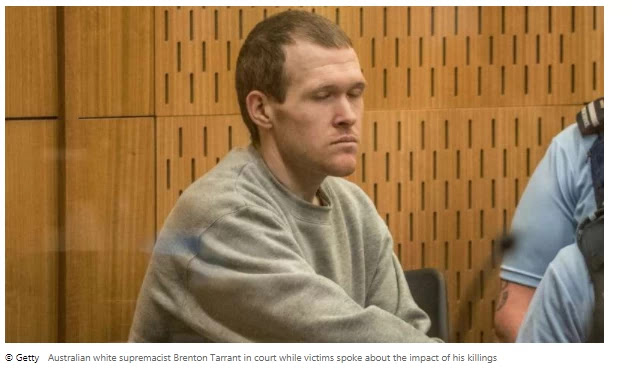 White supremacist jailed for life without parole for Christchurch mosque massacre A supremacist