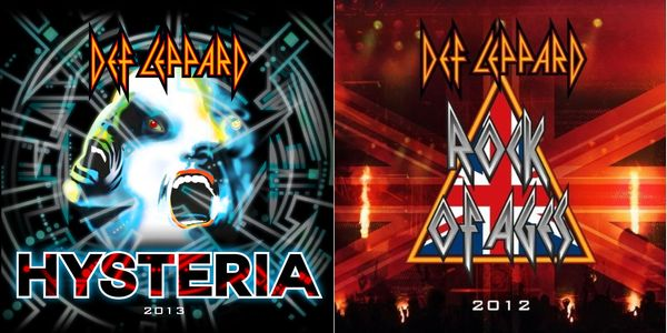 DEF LEPPARD - Re-Recordings 2012-2013 + rare B-Sides cover