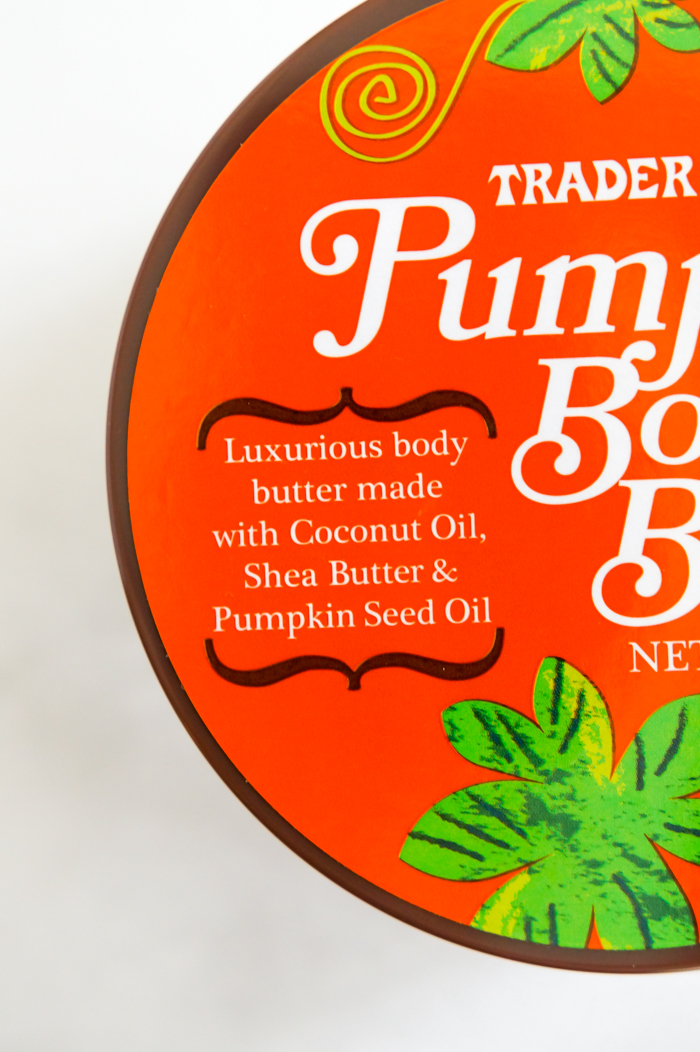 Trader Joe's Pumpkin Body Butter Review