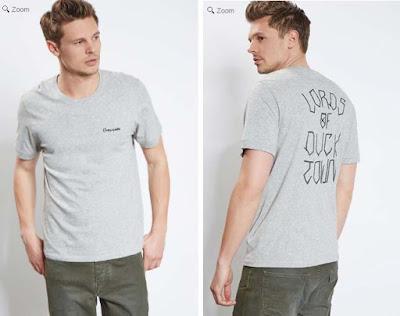 camiseta barata para hombre color gris claro