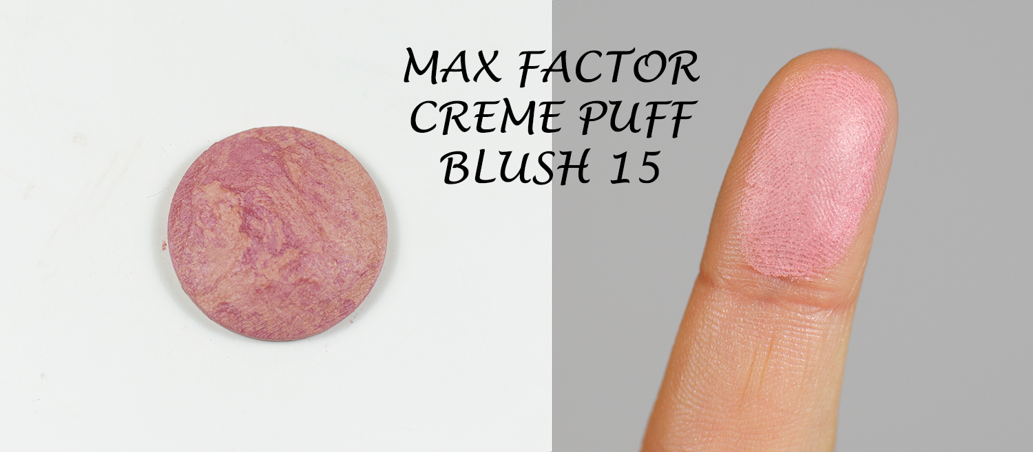 Max Factor Creme Puff Blush  15 Seductive Pink