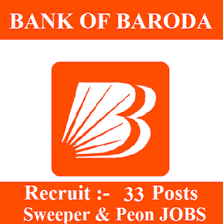 10th, Bank, Bank Of Baroda, BOB, freejobalert, Latest Jobs, Peon, Sarkari Naukri, Sweeper, UP, Uttar Pradesh, UK, Uttarakhand, bob logo