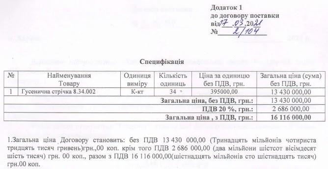 Спец-Техно-Сервіс поставить ХАЗ гусениці для МТ-ЛБ