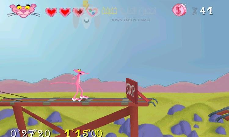 تحميل لعبة النمر الوردي للكمبيوتر مضغوطة من ميديا فاير