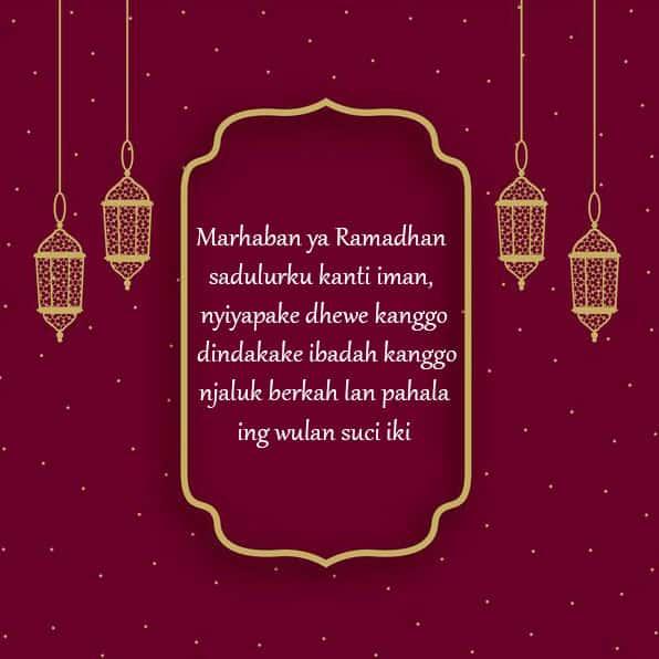 ucapan puasa ramadhan bahasa jawa