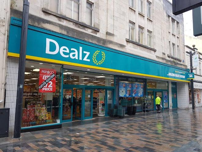Dealz shop in Douglas on the Isle of Man