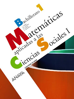 Libro Matemáticas Aplicadas a las Ciencias Sociales I 1º Bachillerato Anaya