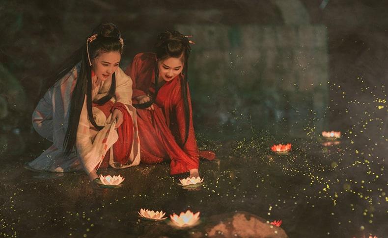 Гейши Китай фото