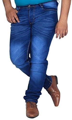 Men's Blue Stretchable Jeans