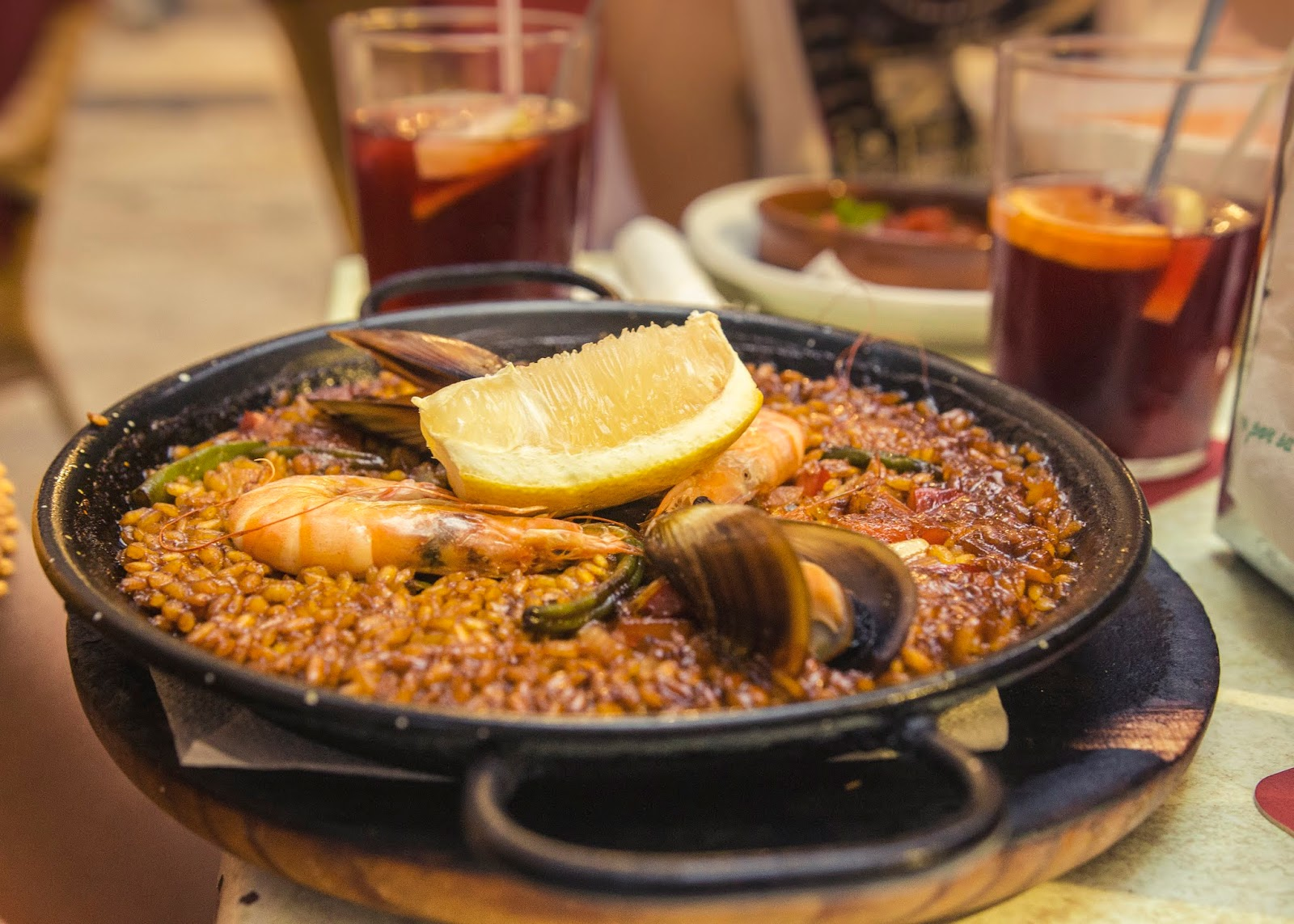 Paella, hiszpańskie danie
