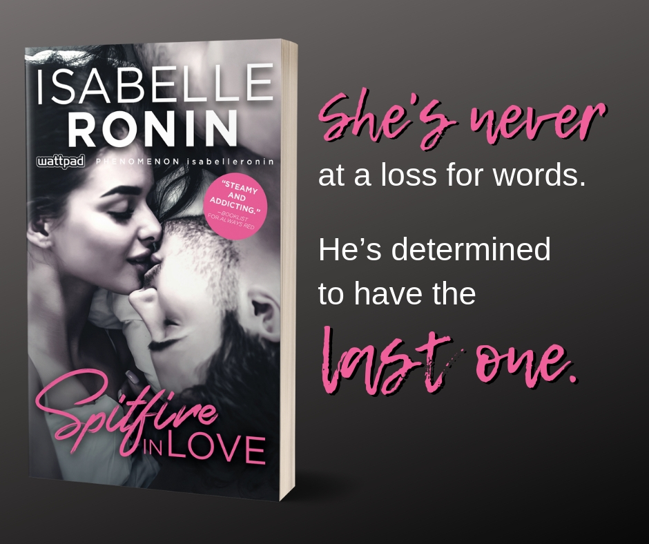 Em And M Books Spitfire In Love By Isabelle Ronin New Release 5 28 And Giveaway