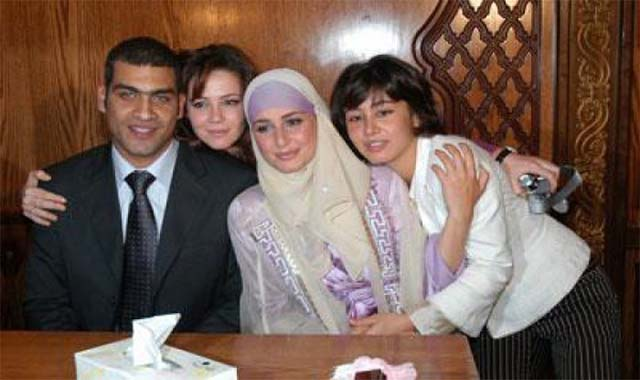 زفاف المطرب هاني عادل على الفنانة اللبنانية ديامان بو عبود