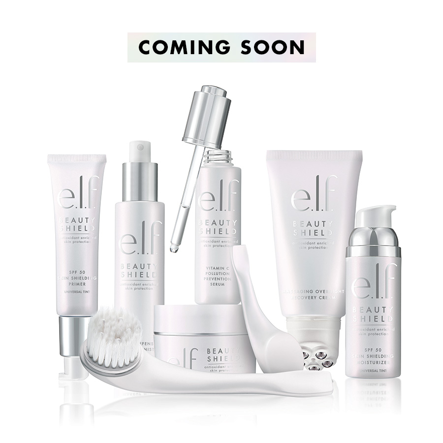elf beauty shield skincare