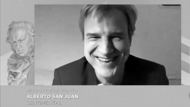 Alberto San Juan. Gala Goya.
