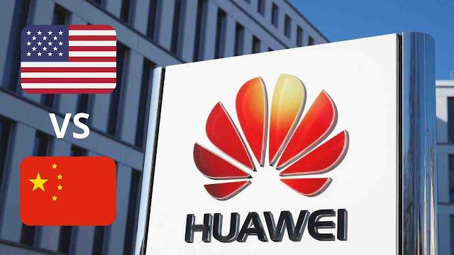 Huawei menjadi pertempuran dominasi amerika vs china