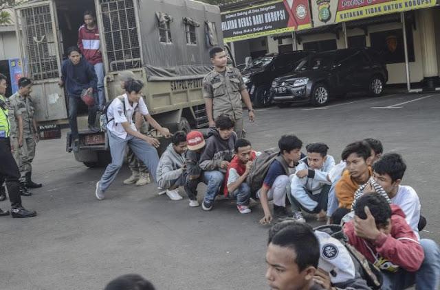 UNICEF Temukan Pelanggaran Polisi Tangkap dan Tahan Anak STM Pendemo DPR