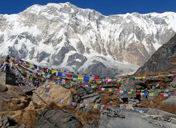 Best Time to Visit Nepal -- Mt Annapurna