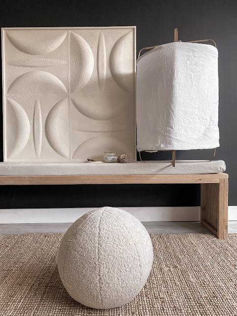 studiopetitdit kunstenaars kunst 3d schilderijen interieurblog interieur blog zwart wit en hout arja van garderen