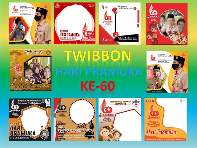 70+ Link Download Bingkai Twibbon Hari Pramuka ke-60, 14 Agustus 2021 Siap Upload di Media Sosial